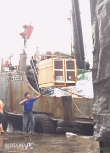 IRISH DOGS (6) UNLOADED IN MACAU PORT (APRIL 15, 2016)