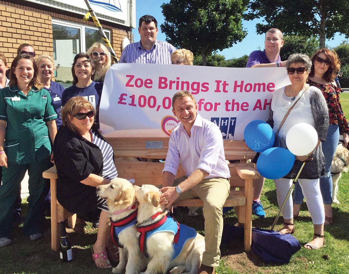 Zoe's journey to £100,000 for for canine cancer