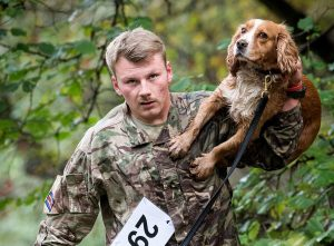 MILITARY WORKING DOGS MAKE A SPLASH IN CANINE BIATHLON