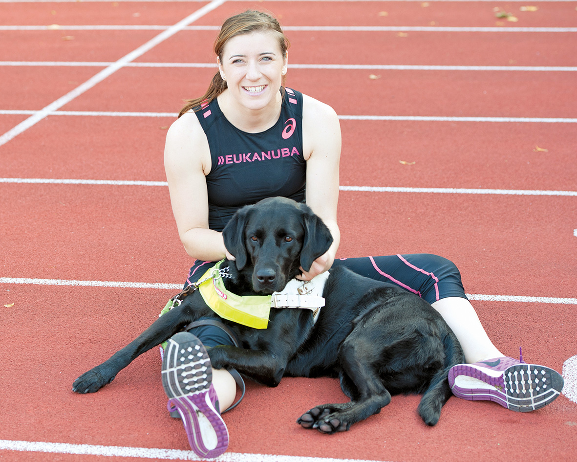 Take ten with Paralympian Libby Clegg and guide dog Hatti