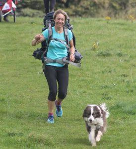 Holly and Hannah on The Big Walk