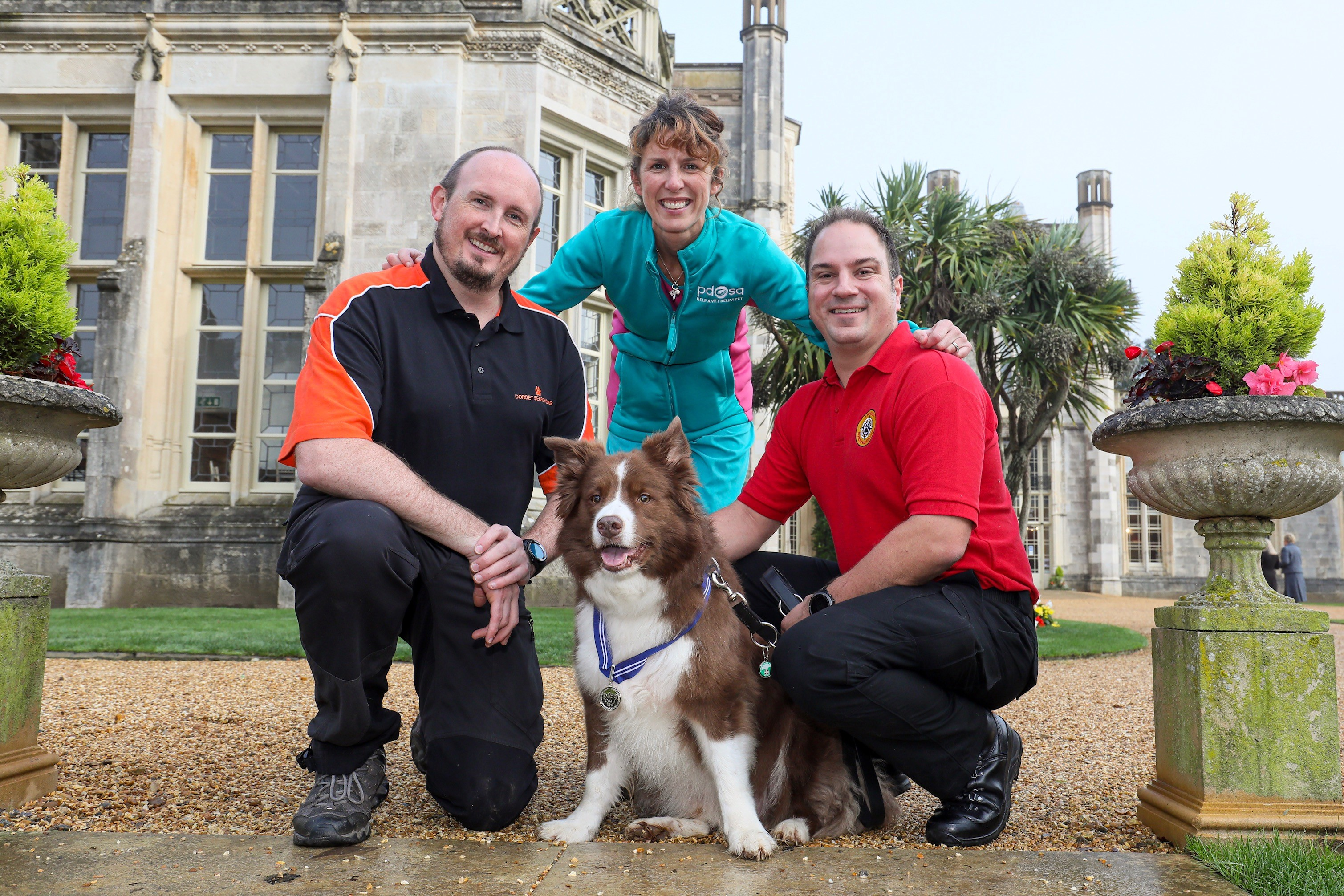 search and rescue dog medal
