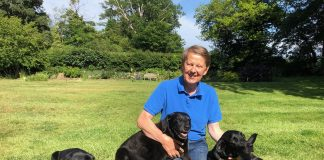 Bill Turnbull with dogs