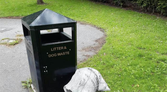 dog's body found in parcel sack