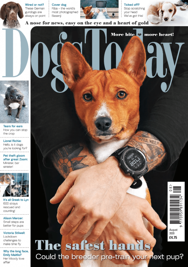 August 2020 Magazine Cover
