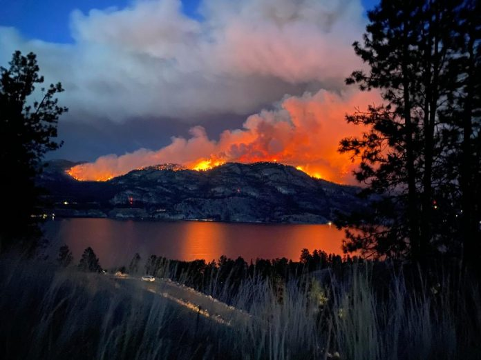 a wildfire destroyed Lytton