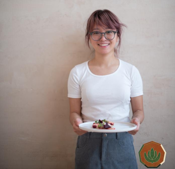 Encouraging to eat vegan dishes on Boknal